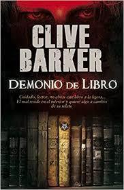 Resultado de imagen de demonio de libro clive barker